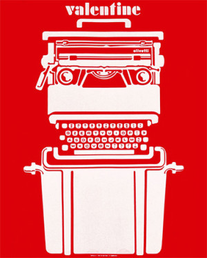 Olivetti Valentine poster 1