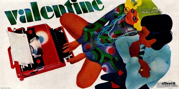Olivetti Valentine poster 2 1969