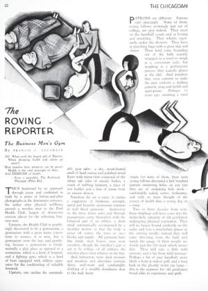 Chicagoan (Roving Reporter)