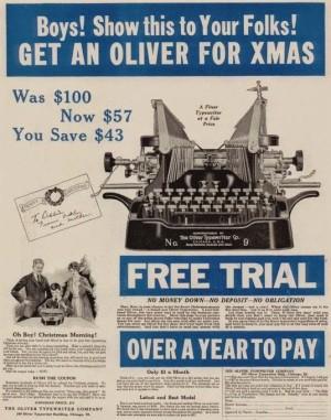 Oliver #9 Xmas 1919