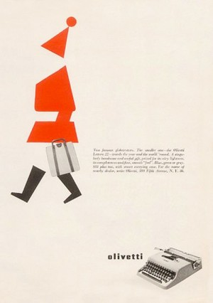 Olivetti Xmas ad (1957)