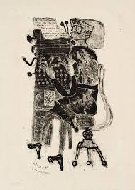 Jean Dubuffett - Typist - 1944