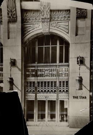 Toronto Star 80 King W entrance