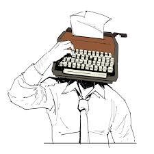 Man at Typewriter 3